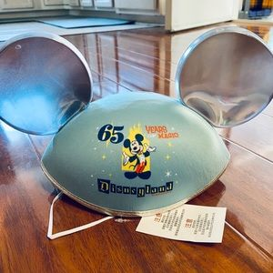 Disneyland 65th Anniversary Ears NWT